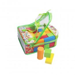 Miękkie kolorowe klocki piankowe dla dzieci 28 elem.