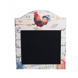 Biała tablica do pisania kredą do kuchni KOGUT