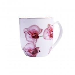 Pozłacany kubek ceramiczny STORCZYK Phalaenopsis