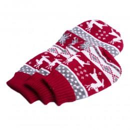 Świąteczny sweterek dla psa kota Z NORWESKIM WZOREM