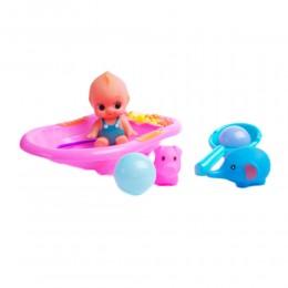 Zabawki do kapieli dla dzieci DZIDZIUŚ W WANIECE I ZWIERZĄTKA