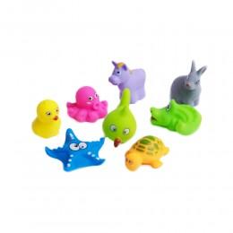 Gumowe zabawki do kapieli dla dzieci ZWIERZĄTKA