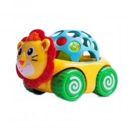 Miękki samochodzik autko grzechotka gryzak dla dziecka LEW