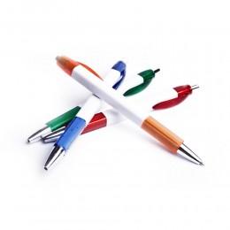 Zestaw 4 długopisów niebieskich cienko piszących