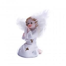 Aniołek świecący figurka ozdoba świąteczna 10 cm