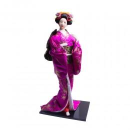 Duża figurka Gejszy JAPOŃSKA GEJSZA GEISHA lalka 55 cm