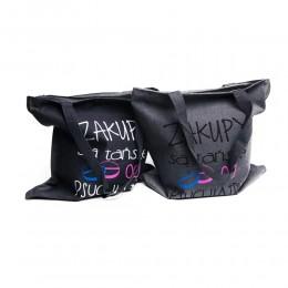 Eko torba płócienna – torby na zakupy ZAKUPY SĄ TAŃSZE OD PSYCHIATRY