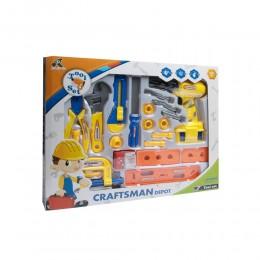 Plastikowe narzędzia dla dzieci MAŁY MAJSTERKOWICZ
