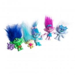 TROLLS trolle figurki zabawki dla dzieci zestaw 5 szt