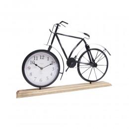 Metalowy ZEGAR ROWER | zegar dekoracyjny