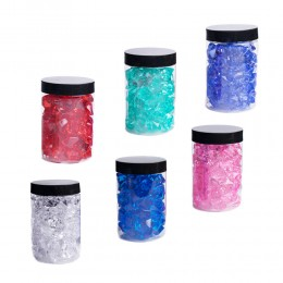Kryształowy lód | Ozdobne akrylowe kryształki do dekoracji stołu wazonu