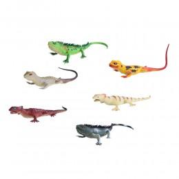 Gumowa jaszczurka | Gumowe jaszczurki | Jaszczurka zabawka dla dzieci