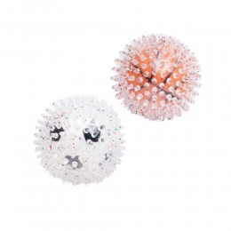 Piłka świecąca dla psa | Piłeczka jeż | Zabawka dla psów kula