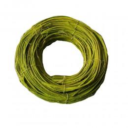 Wiosenny wianek krążek podkład z gałązek zielony 30 cm