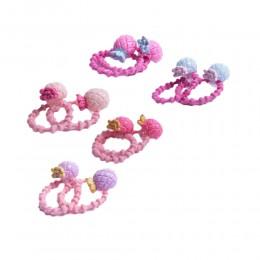 Zestaw 2 pastelowych gumek do włosów dla dzieci ANANAS