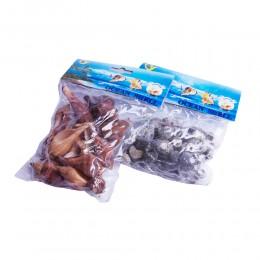 MUSZLE DEKORACYJNE muszelki morskie zestaw do akwarium