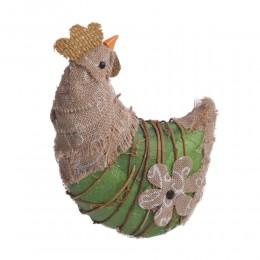 Eko kura kurka dekoracja wiosenna ozdoba wielkanocna