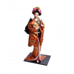 Przepiękna duża figurka gejszy japońska GEISZA Geisha cm kimono