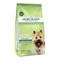Arden Grange Adult Mini Lamb karma dla psów dorosłych ras małych 2 kg