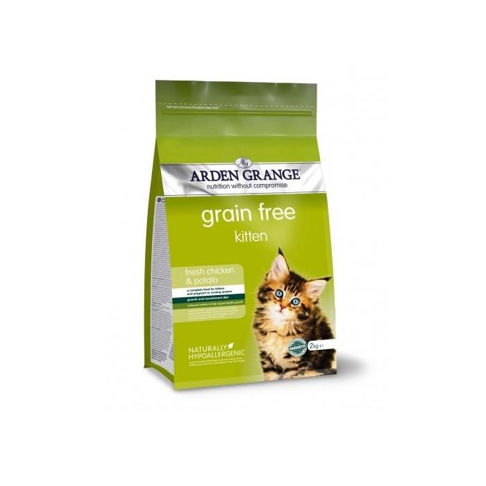 Arden Grange GRAIN FREE Kitten chicken & potato karma dla kociąt