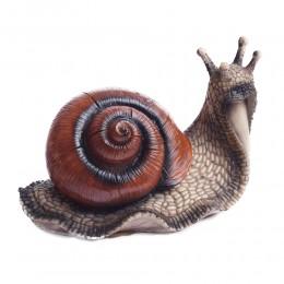 Figurka duży ślimak dekoracja ozdoba do domu i ogrodu