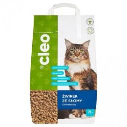Cleo żwirek dla kota ze słomy 100% naturalny i ekologiczny 7 l