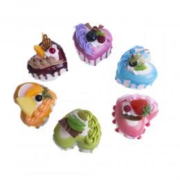 Magnes na lodówkę sztuczne ciastka ciastko deser jak prawdziwe dekoracja