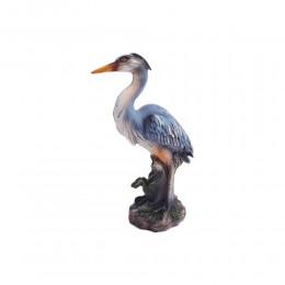 Czapla rzeźba figurka dekoracja ozdoba prezent dla myśliwego