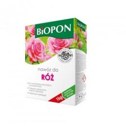 BIOPON nawóz granulowany do róż 1 kg + Eliksir do storczyków