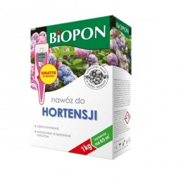 BIOPON nawóz granulowany do hortensji 1 kg + GRATIS