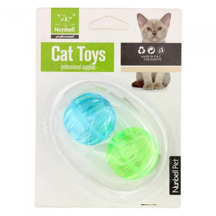 Zabawki dla kota |Piłeczki z dzwonkiem mix kolorów