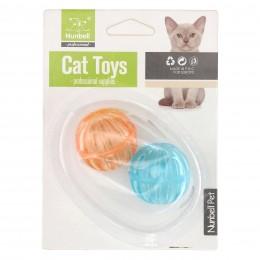 Akcesoria dla kota | Piłeczki z dzwonkiem mix kolorów