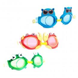 Okulary pływackie dla dzieci ZWIERZĄTKA / dziecięce okularki do pływania