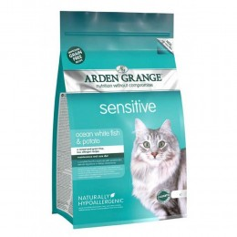 Karma dla kotów Arden Grange GRAIN FREE Sensitive white fish & potato