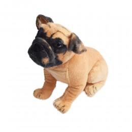 Maskotki dla dzieci pluszowy pies BULDOG ANGIELSKI przytulanka