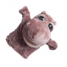 Zabawki pacynki pacynka na rękę dla dzieci HIPOPOTAM