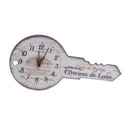 ZEGAR ŚCIENNY wieszak na klucze z zegarem