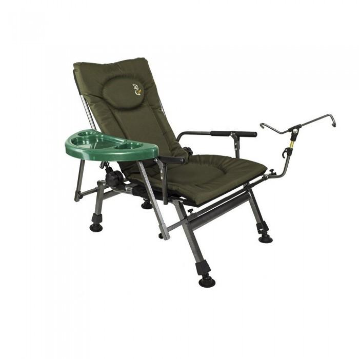 Fotel krzesło wędkarskie Elektrostatyk F5R STP