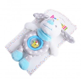 Gryzak grzechotka zabawka dla niemowlaka PIESEK