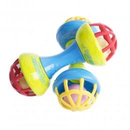 Zabawka gryzak kolorowa grzechotka dla niemowlaka