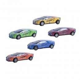 Świecący samochodzik zabawka dla dziecka mix. kolorów
