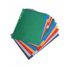 Przekładki do segregatora A4 / zakładki indeksujące numeryczne kolorowe