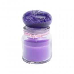 Świeca zapachowa w słoiku zapach LAWENDA / świeczki zapachowe