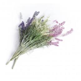 Sztuczna lawenda jak prawdziwa / sztuczny kwiat bukiet Prowansja 41cm