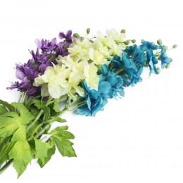 Sztuczne ostróżki ostróżka gałązka kwiaty sztuczne sklep internetowy