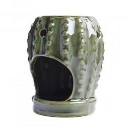 Kaktus kominek podgrzewacz ceramiczny do olejków wosków