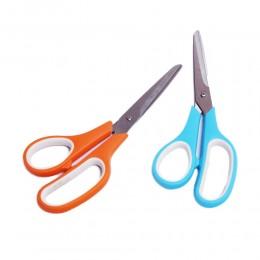 Nożyce nożyczki domowe uniwersalne z gumową rączką 195 mm