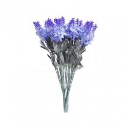 Fioletowa lawenda angielska sztuczny bukiet kwiatów jak żywy!
