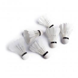 Lotki piórowe do badmintona piórkowe tuba 6 sztuk