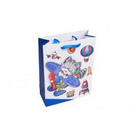 torebka prezentowa dla dzieci kot